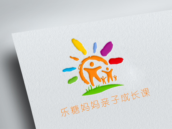 logo设计-乐糖妈妈亲子成长课-乐堂网络